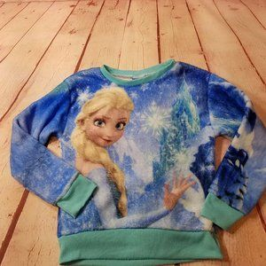 Disney  Elsa Sweatshirt 6/6x